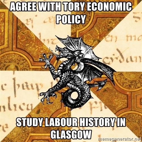 History Major Heraldic Beast - agree with tory economic policy study labour history in glasgow