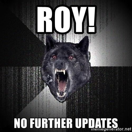 Insanity Wolf - roy! no further updates