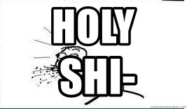 Cereal Guy Spit - Holy  Shi-