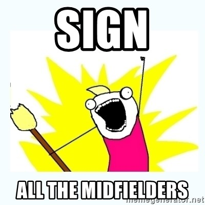 All the things - Sign ALL THE MIDFIELDERS
