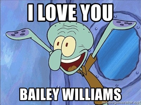 Guess What Squidward - i love you bailey williams