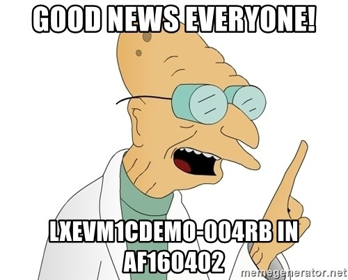 Good News Everyone - gOOD NEWS EVERYONE! LXEVM1CDEMO-004RB iN af160402