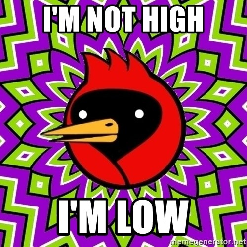 Omsk Crow - I'm not high I'm low