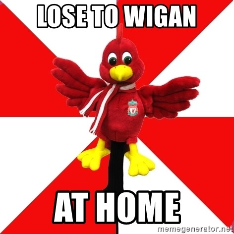 Liverpool Problems - Lose to wigan at home