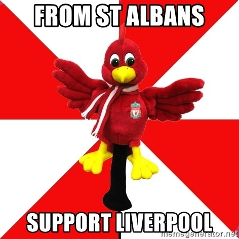 Liverpool Problems - from st albans support liverpool