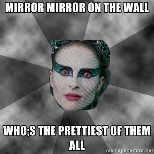 Black Swan Eyes - mirror mirror on the wall who;s the prettiest of them all
