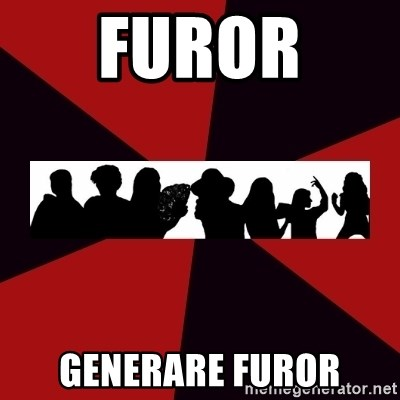 Typical Warrior of Pathos - furor  GENERARE FUROR