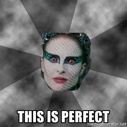 Black Swan Eyes - This is perfect