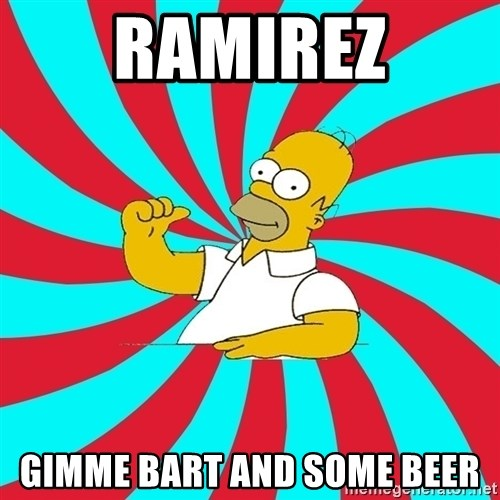 Frases Homero Simpson - Ramirez Gimme Bart and some beer