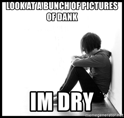 First World Problems - Look at a bunch of pictures of Dank im dry