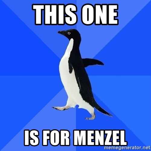 Socially Awkward Penguin - This one is for menzel
