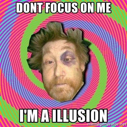 Russian Boozer - DONT FOCUS ON ME I'M A ILLUSION