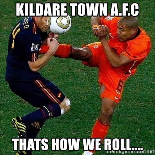 Netherlands - Kildare town a.f.c thats how we roll....