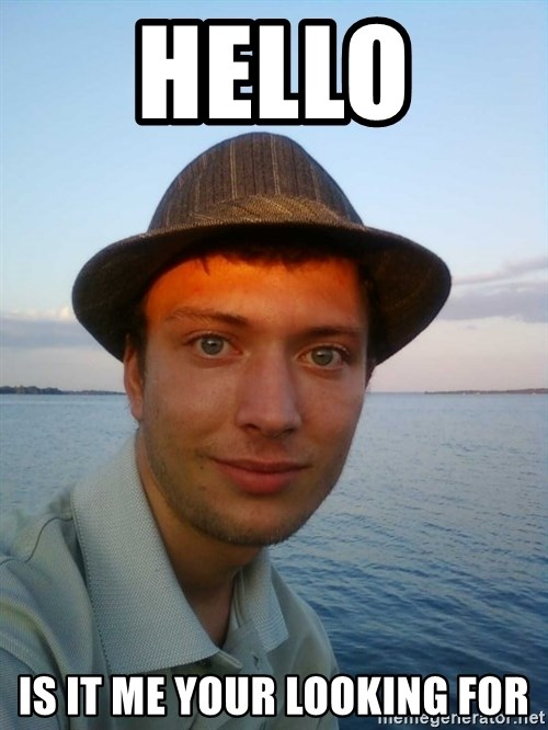 Beta Tom - Hello  is it me your looking for