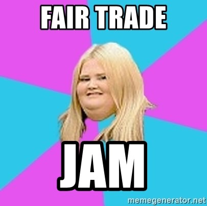 Fat Girl - Fair trade Jam