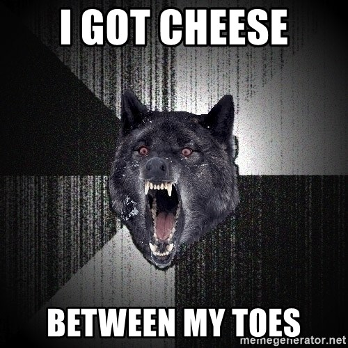 Insanity Wolf - i got cheese between my toes