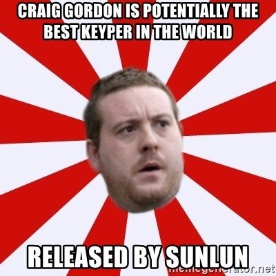Mackem Logic - craig gordon is potentially the best keyper in the world released by sunlun