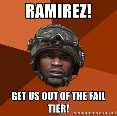 Sgt. Foley - ramirez! get us out of the fail tier!