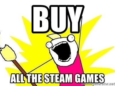 X ALL THE THINGS - buy  all the steam games