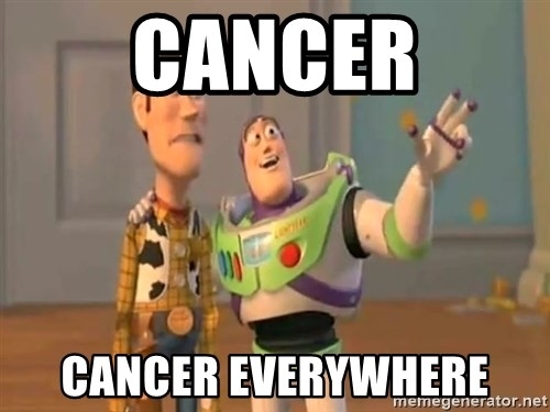 X, X Everywhere  - Cancer Cancer everywhere