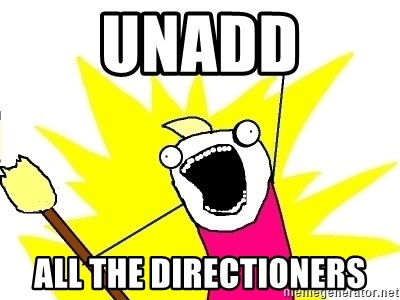 X ALL THE THINGS - Unadd all the directioners