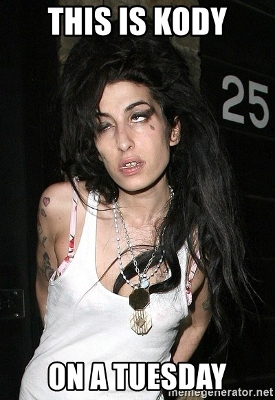 Amy Winehouse - this is kody on a tuesday