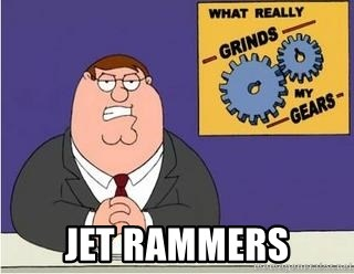 Grinds My Gears Peter Griffin - jet rammers