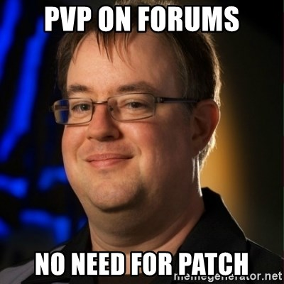 Jay Wilson Diablo 3 - pvp on forums no need for patch