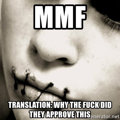 silence - mmf translation: why the fuck did they approve this