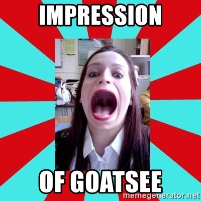 Big Mouth Girl - impression of goatsee