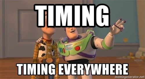ORIGINAL TOY STORY - timing timing everywhere