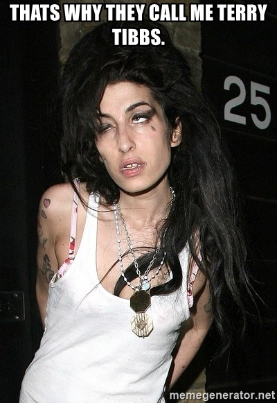 Amy Winehouse - THATS WHY THEY CALL ME TERRY TIBBS.