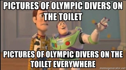 X, X Everywhere  - pictures of olympic divers on the toilet pictures of olympic divers on the toilet everywhere