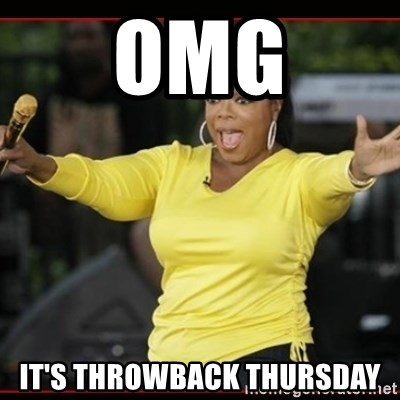 Overly-Excited Oprah!!!  - OMG It's Throwback thursday