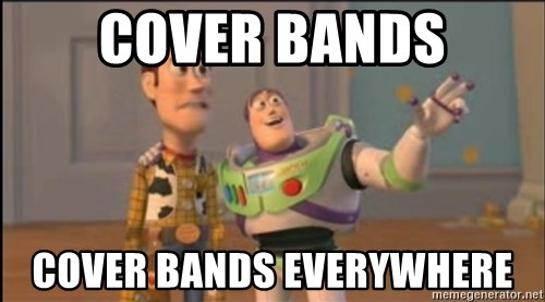 X, X Everywhere  - cover bands cover bands everywhere