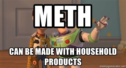 ORIGINAL TOY STORY - METH CAN BE MADE WITH HOUSEHOLD PRODUCTS