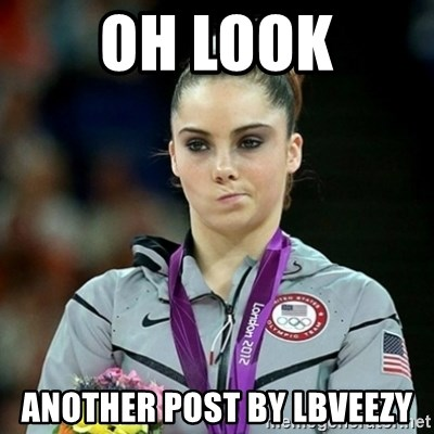 Not Impressed McKayla - oh look another post by lbveezy