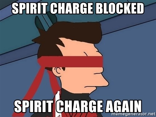fryshi - Spirit charge Blocked Spirit Charge Again