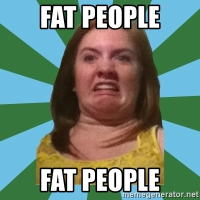 Disgusted Ginger - Fat People Fat People