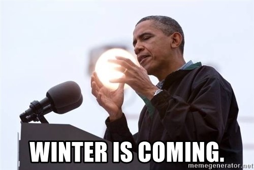 Wizard Obama - Winter is coming.