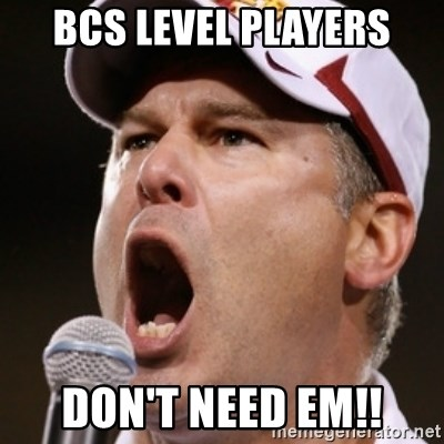 Pauw Whoads - Bcs level players don't need em!!
