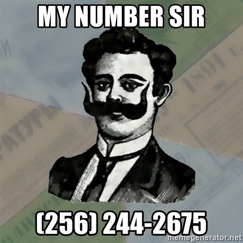 Old russian advisor - my number sir (256) 244-2675