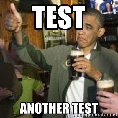 obama beer - test another test