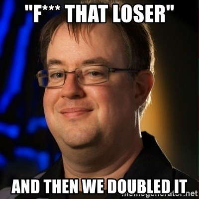 "Jay Wilson Diablo 3 - ""f*** that loser"" and then we doubled it"