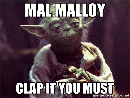 Yoda - Mal Malloy clap it you must