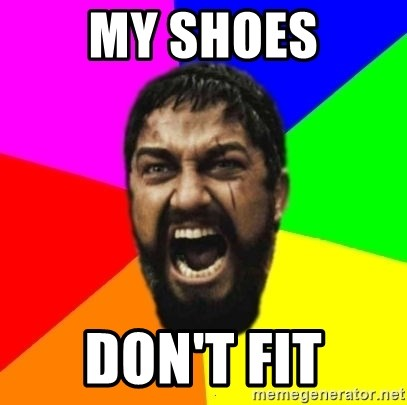 sparta - MY SHOES DON'T FIT