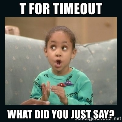 Raven Symone - T for timeout what did you just say?