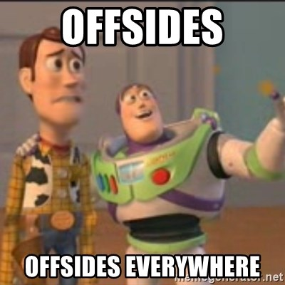 Buzz - Offsides Offsides everywhere