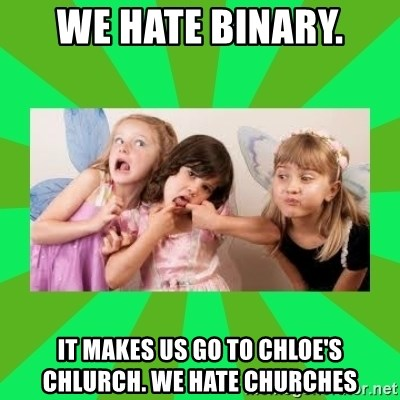 CARO EMERALD, WALDECK AND MISS 600 - we hate binary. it makes us go to chloe's chlurch. we hate churches