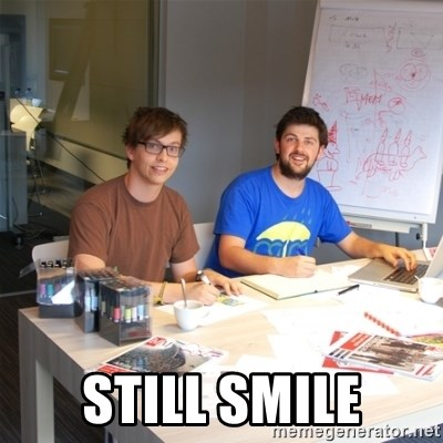 Naive Junior Creatives - still smile